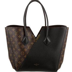 Louis Vuitton brown Monogram kimono tote